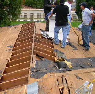 Fixing a Roof - Home Repair